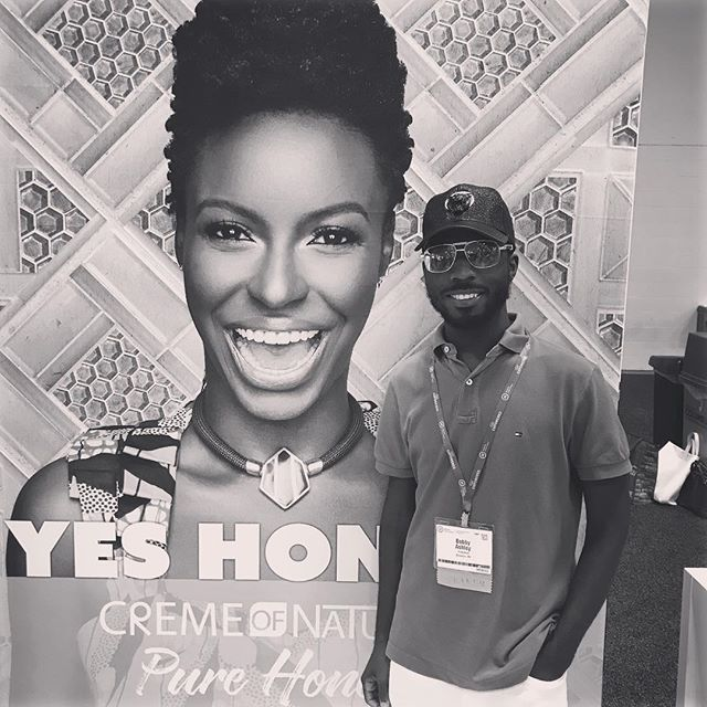 Day 2 at the @naturbanleague  #YesHoney #HookedOnHoney #CremeOfNature #Ad #Walmart #WalmartAction